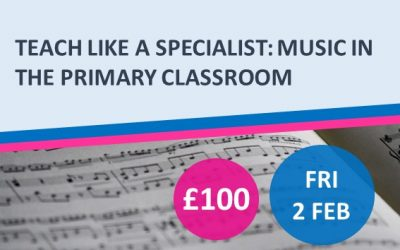 Teach Like a Specialist: Music in the Primary Classroom